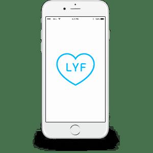 LYF Device Mockup